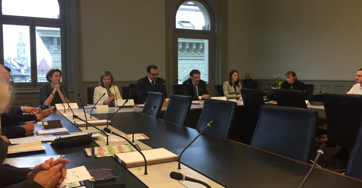 Roundtable on Ukraine: Assessment in Bundeshaus